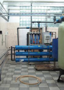 Комплексная водоподготовка обезжелезивание, умягчение и обратный осмос 9 м3 в час