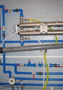 Лампа обеззараживания воды 10 м3 в час